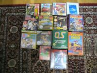 Vintage Atari ST Games 14 inc Untouchables.Future Bike etc