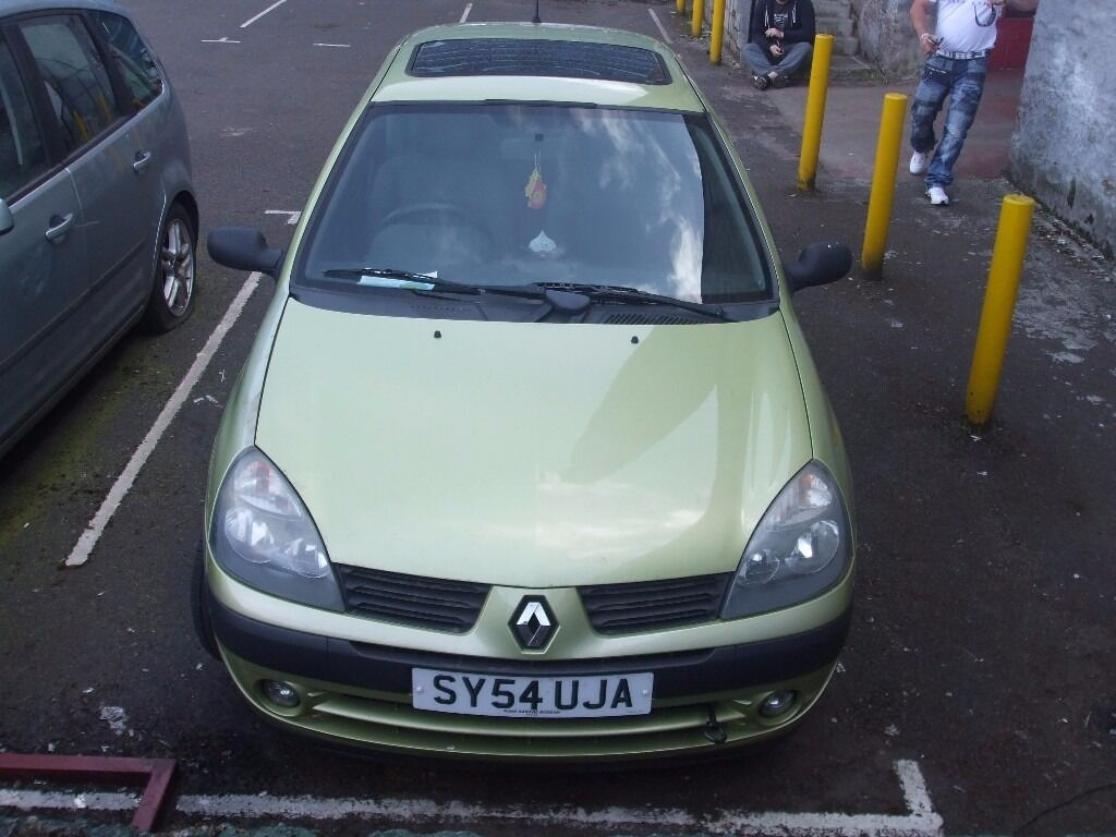 renault clio 1 5 dci 80 bhp for spare or repair in dundee gumtree. Black Bedroom Furniture Sets. Home Design Ideas