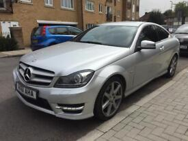Mercedes c class coupe c220 AMG cdi hpi clear