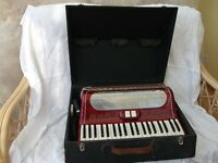 120 Bass Piano Accordian Good Condition