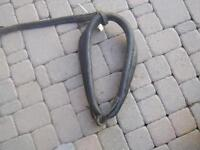 Antique vintage leather horse collar