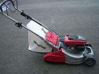 "EX DEMO SP555R V roller mower, honda engine, 21"" cut, galvanised deck, top of the range"