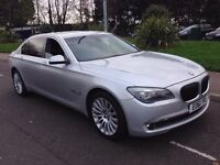 BMW 7 SERIES 730LD LIMOUSINE 2011 (61) AUTO FULL BMW HISTORY RECENLTY SERVICED