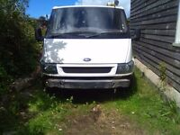 2001 FORD TRANSIT T300 SWB VAN,SPARES OR REPAIR,115K MILES,NO MOT!