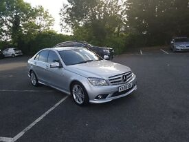>> IMMACULATE CONDITION C-CLASS + SAT NAV + AMG BODY + FULL SPEC !!