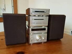 Technics Stereo System (retro)