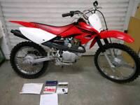 Honda crf 100 perfect first time bike not ttr klx ttr