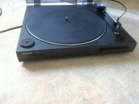 stereo turntable/record player