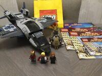 LEGO 6869 Marvel Super Heroes - Quinjet Aerial Battle - 100% Complete