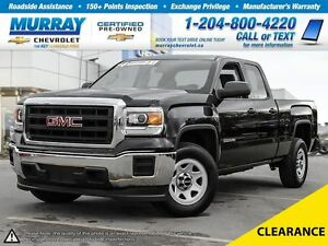 2014 GMC Sierra 1500 2WD Double Cab Standard Box *Accident Free,