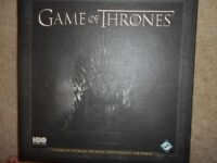 GAME OF THRONES BOARD GAME- WINTER IS COMING