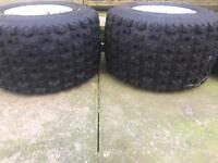 Raptor 660 wheels and tyres