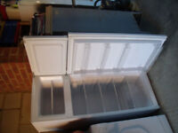 Essentials White Fridge Freezer Very Good Condition
