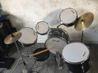Jounior drum set by stagg