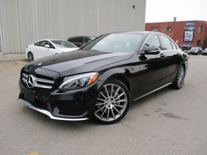 2015 Mercedes-Benz C-Class C400 4MATIC NAVIGATION FULLY LOADED