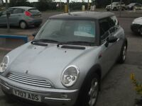 MINI COOPER PANORAMIC ROOF