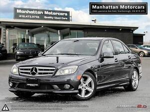2010 MERCEDES BENZ C300 4MATIC  BLUETOOTH LEATHER SUNROOF