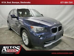 2012 BMW X1 xDrive28i, EXTRA CLEAN, CARPROOF DISPONIBLE