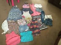 Girls clothes bundle age 4-6 years vgc