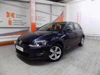 Volkswagen Golf MATCH TDI BLUEMOTION TECHNOLOGY DSG (blue) 2014-09-24