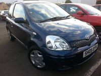 ★ GUARANTEED 39,000 MLS ★ 2005 Toyota Yaris 1.0 COLOUR COLLECTION ★ FULL YRS MOT, 2 OWNERS,like clio