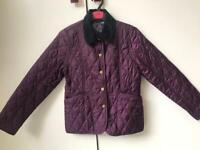 BARBOUR Girls' Quilted Jacket Age 8-9