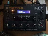 Dave Smith Tetra analog polyphonic multitimbral desktop synthesizer