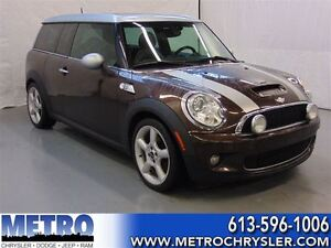 2008 MINI Cooper S Clubman Panoramic sunroof + Bluetooth