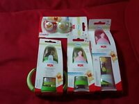 NUK SET (bottles and
