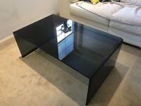 Glass Bridge Coffee Table-Rectangular
