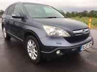 SALE! Bargain top of the line Honda CR-V long MOT luxury 4x4