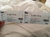 2 x tickets to the Downs Festival 2017