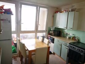 3 bed maisonette in block for 3/4 bed with RTB & Garden.