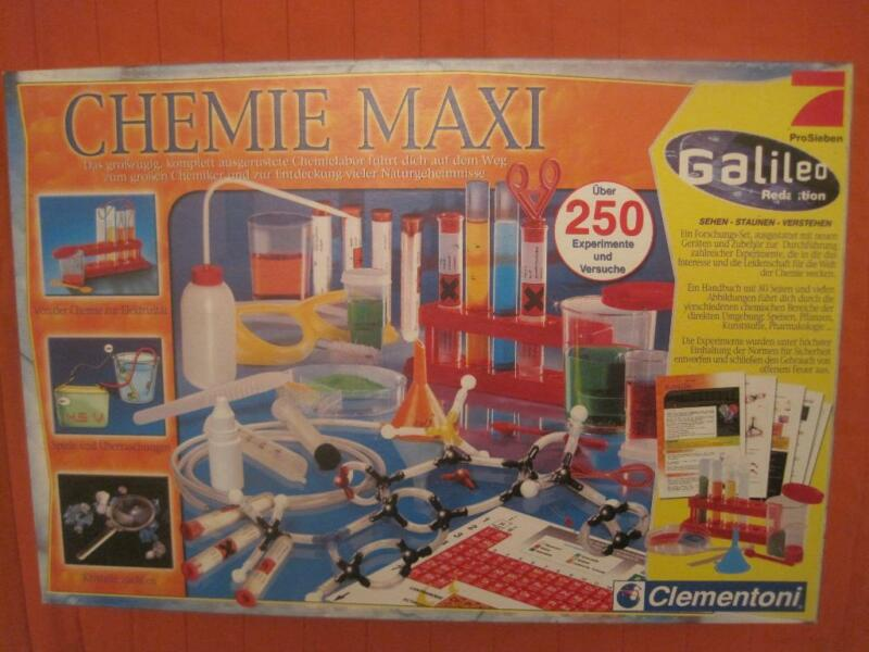 chemie maxi galileo experimentierkasten in leipzig west ebay kleinanzeigen. Black Bedroom Furniture Sets. Home Design Ideas