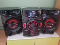200W CM4340 Home Audio System with Auto DJ and Bass Blast