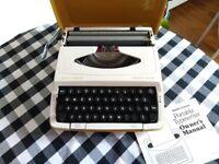 Vintage typewriter - Smith-Corona Corsair Deluxe Portable Typewriter