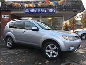 2007 Mitsubishi Outlander XLS,PushStart,Leather,HtdSts,Sunroof,4