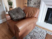 Leather suite for sale
