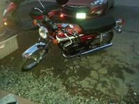 rare rd 350 two stroke motorcycle trade for 4 stroke bike