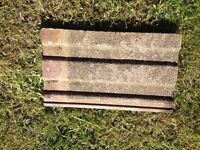 "Reclaimed ""camtiles"" roof tiles"
