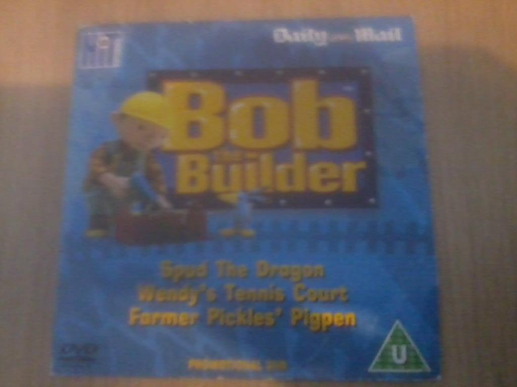 Bob the builder live online dvd rental - Bob The Builder Dvd Promo The Daily Mail Spud The Dragon And Other Stories Kids Only