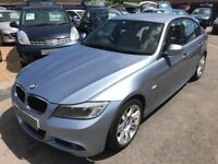 2011/61 BMW 3 SERIES 318d MODERN 4DR BLUE,FULL LEATHER INTERIOR 1 PREVIOUS OWNER, SERVICE HISTORY