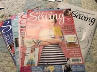 Love Sewing magazines