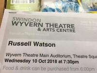 Gig ticket to see Russell Watson