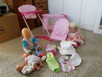 Toy Baby Doll Bundle