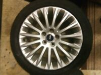 Spare Alloy Wheel and Tyre