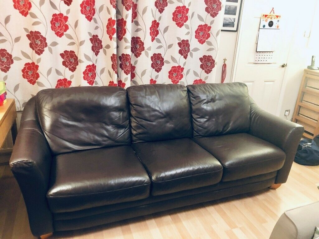 Tremendous Harmony 3 Seater Sofa Kingsbury Furniture Specialists Grade B Leather In Aylesbury Buckinghamshire Gumtree Dailytribune Chair Design For Home Dailytribuneorg