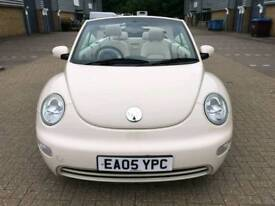 VW BEETLE s CONVERTIBLE 1.6 PETROL CABRIOLET MANUAL 2005