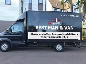 Urgent Removal expert man with big Luton van available anytime