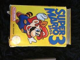 SUPER MARIO BROS 3 FOR NINTENDO ENTERTAINMENT SYSTEM NES VERSION